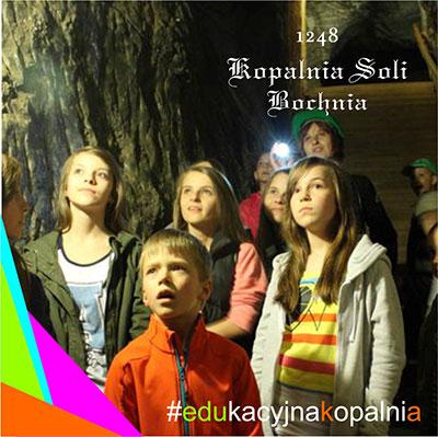 Edukacja 250 m pod ziemią w najstarszej w Polsce, Kopani Soli Bochnia