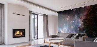 Kosmiczne aranżacje – poznaj nieziemskie fototapety