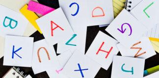 Alfabet polski i niemiecki